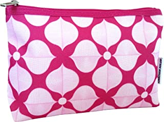 Jonathan Adler for Clinique Pink and White Cosmetics Makeup Bag Set