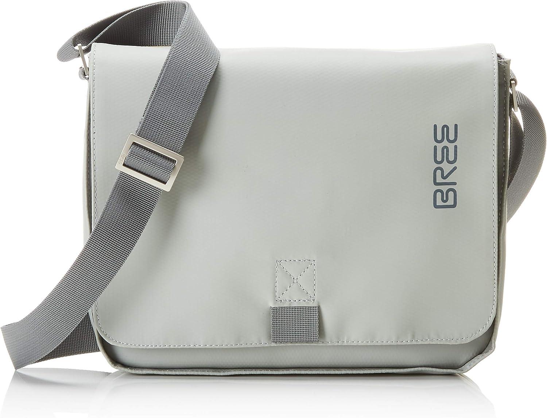 BREE Collection Punch 61, Belgian Block, Shoul. Bag S19, Unisex Adults' Shoulder Bag, Green (Belgian Block), 6x21x26 cm (B x H T)