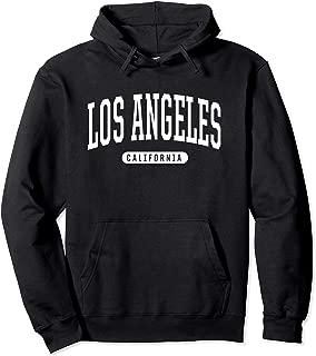 Los Angeles Hoodie Sweatshirt College University Style USA.