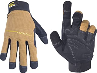 CLC Custom Leathercraft 124X Workright Flex Grip Work Gloves, Shrink Resistant, Improved..
