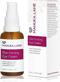 Natural Anti-Aging Eye Cream Moisturizer with Manuka Honey, Eyebright, Vitamin E, and Lanolin – Nature's Most Powerful Def...