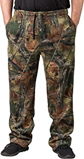 Men's Camo 3 Pocket Hunting Sweatpants