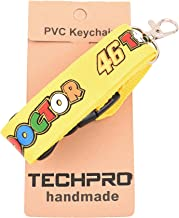 AVI Multi-Colour Fabric Locking ID Tag ID Card Holder for Rossi Fans DR 46 Yellow Tag Design