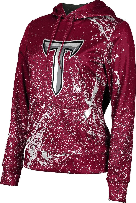 Troy University Girls' Pullover Hoodie, School Spirit Sweatshirt (Splatter)