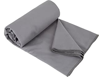 Travelon Anti-Bacterial Travel Towel, Gray, One Size