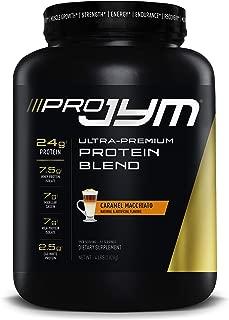 Pro JYM Protein Powder - Egg White, Milk, Whey Protein Isolates & Micellar Casein   JYM Supplement Science   Caramel Macchiato Flavor, 4 lb