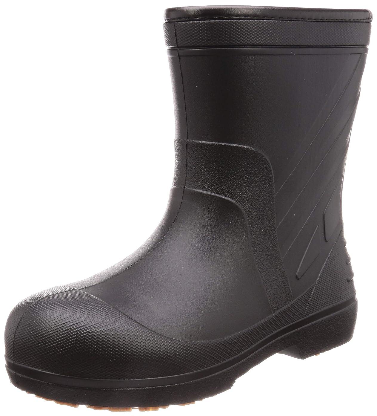 [キタ] 安全長靴 作業長靴 メガセーフティ 超軽量&屈曲EVAラバーショート KR-7050