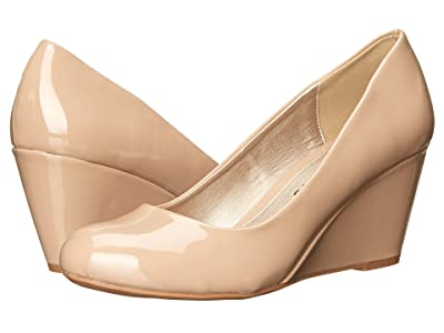 Dirty Laundry DL Not Me Wedge Pump (Nude) Women