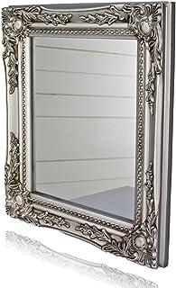 32x27x3cm espejo de pared rectangular, marcos antiguos de é
