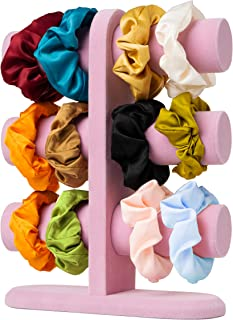 Scrunchie Holder Stand | Bracelet Holder and Hair Accessories Organizer – Great for Scrunchies, Hair Ties & Jewelry Displa...