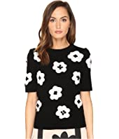 Kate Spade New York - Floral Intarsia Sweater