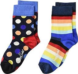 Big Dot Socks 2-Pack (Toddler/Little Kid/Big Kid)