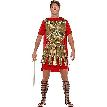 Smiffy s 40377l economía gladiador romano disfraz, para hombre ...