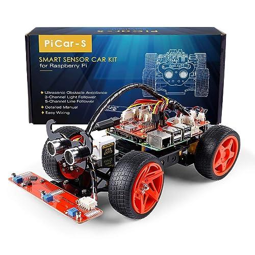 Raspberry Pi Robot: Amazon com