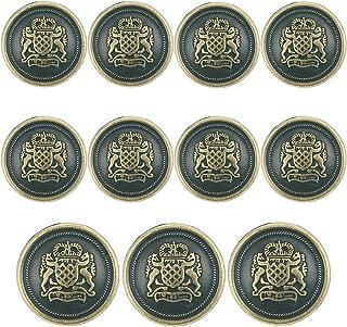 solid brass blazer buttons