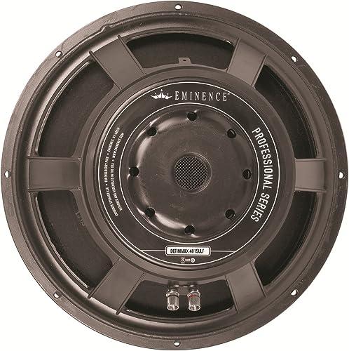 "Eminence Professional Series Definimax 4015ULF-8 15"" Pro Audio Speaker, 1200 Watts at 8 Ohms"