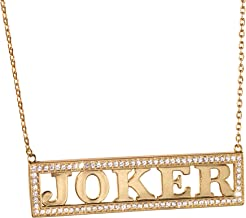 The Noble Collection Harley's Joker Necklace