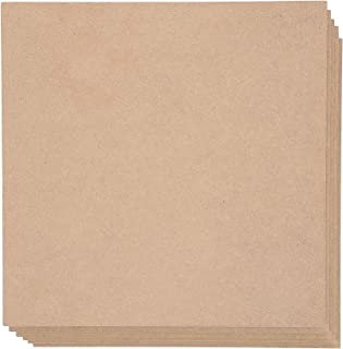 Bright Creations Square MDF Board, 10 Inches (6 Pack)