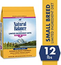 Natural Balance L.I.D. Limited Ingredient Diets Small Breed Bites Dry Dog Food