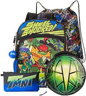 5 Piece Turtle Backpack Set