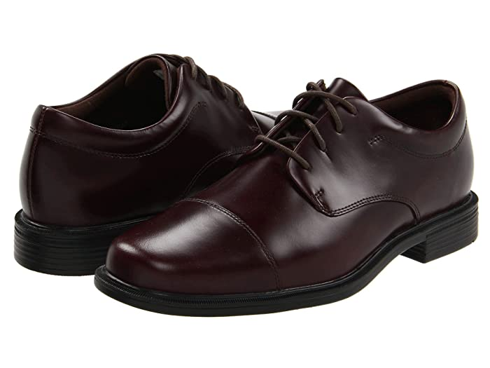 Rockport  Office Essentials Ellingwood (Oxblood) Mens Lace Up Cap Toe Shoes