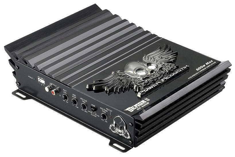 POWER ACOUSTIK D2-600B Demon 600 Watt 2 Ohm Stereo Amplifier - Black