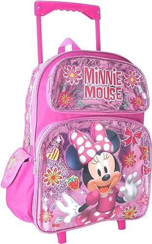 Licensed Minnie Mouse, mädchen Kinderrucksack Rosa Rosa L