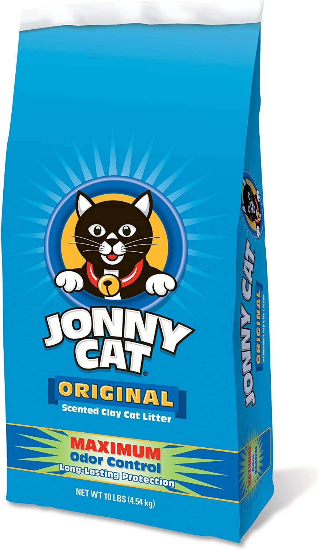 Jonny Cat Original Maximum Odor Control Scented Clay Cat Litter Bag, 10Pound