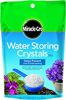 Miracle-Gro 1008311 Water Storing Crystals (5 Pack), 12 oz