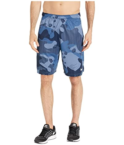 Nike Dry Shorts 4.0 All Over Print Camo (Ocean Fog/Black) Men