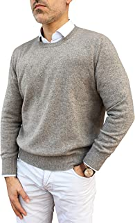 Maglione Uomo 100% Baby Cachemire - Made in Italy
