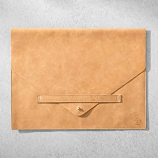 Hearth and Hand with Magnolia Genuine Leather Document/Laptop Sleeve Joanna Gaines Collection Limited Edition