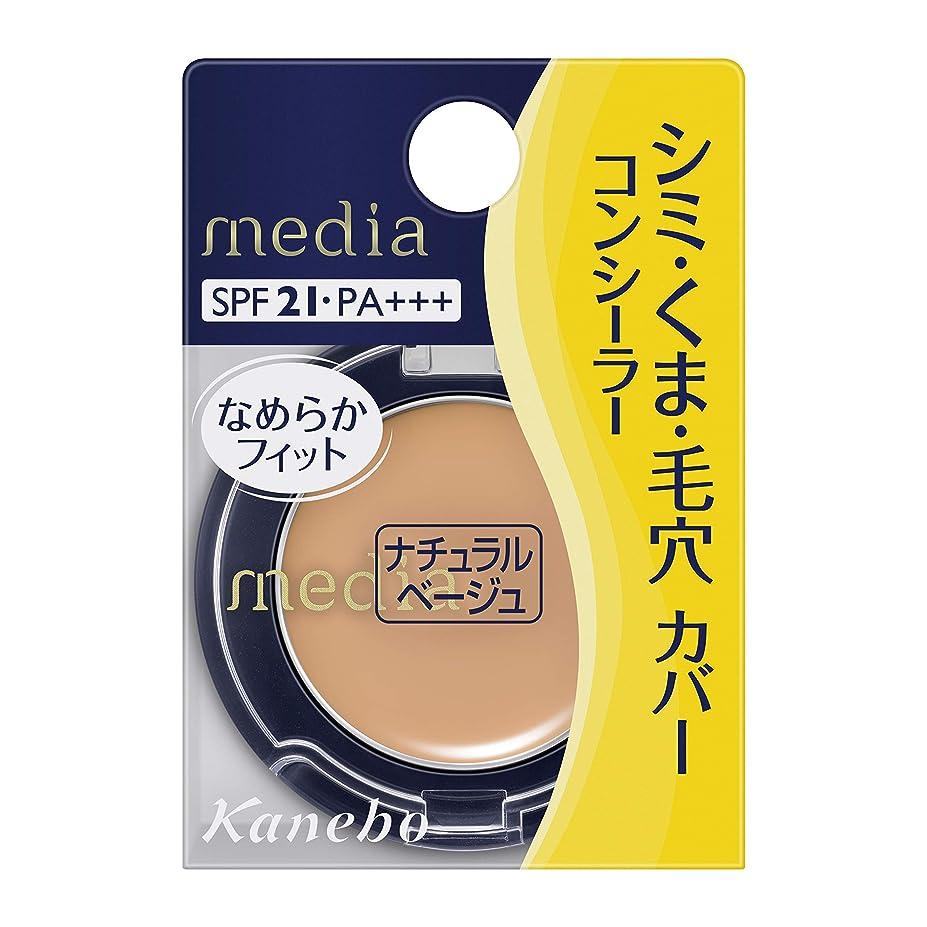 ポジティブ津波店員カネボウ化粧品 メディア コンシーラー S ナチュラルベージュ 1.7g