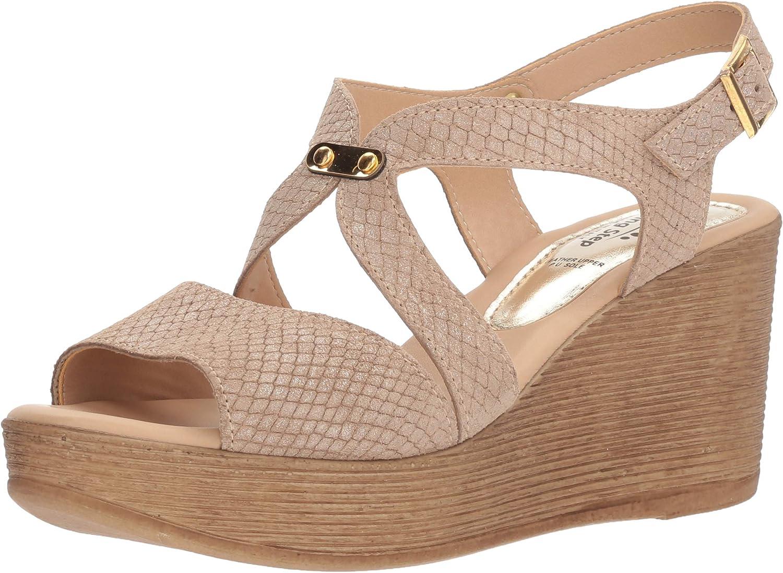 Spring Step Womens Nevena Wedge Sandal