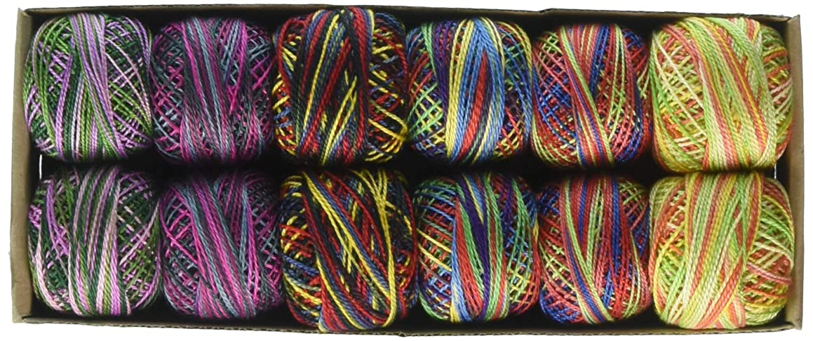 Valdani TVBPC8SMPLR Pearl Cotton Ball Needleart, Multicolor