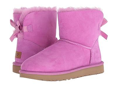 UGG Mini Bailey Bow II (Bodacious Pink) Women