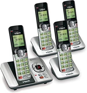 VTech CS6529-4 DECT 6.0 Phone Answering System with Caller ID/Call Waiting, 4 Cordless..