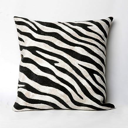 Liora Manne Mystic I Wild Horse Indoor/Outdoor Pillow Black - 20 Square