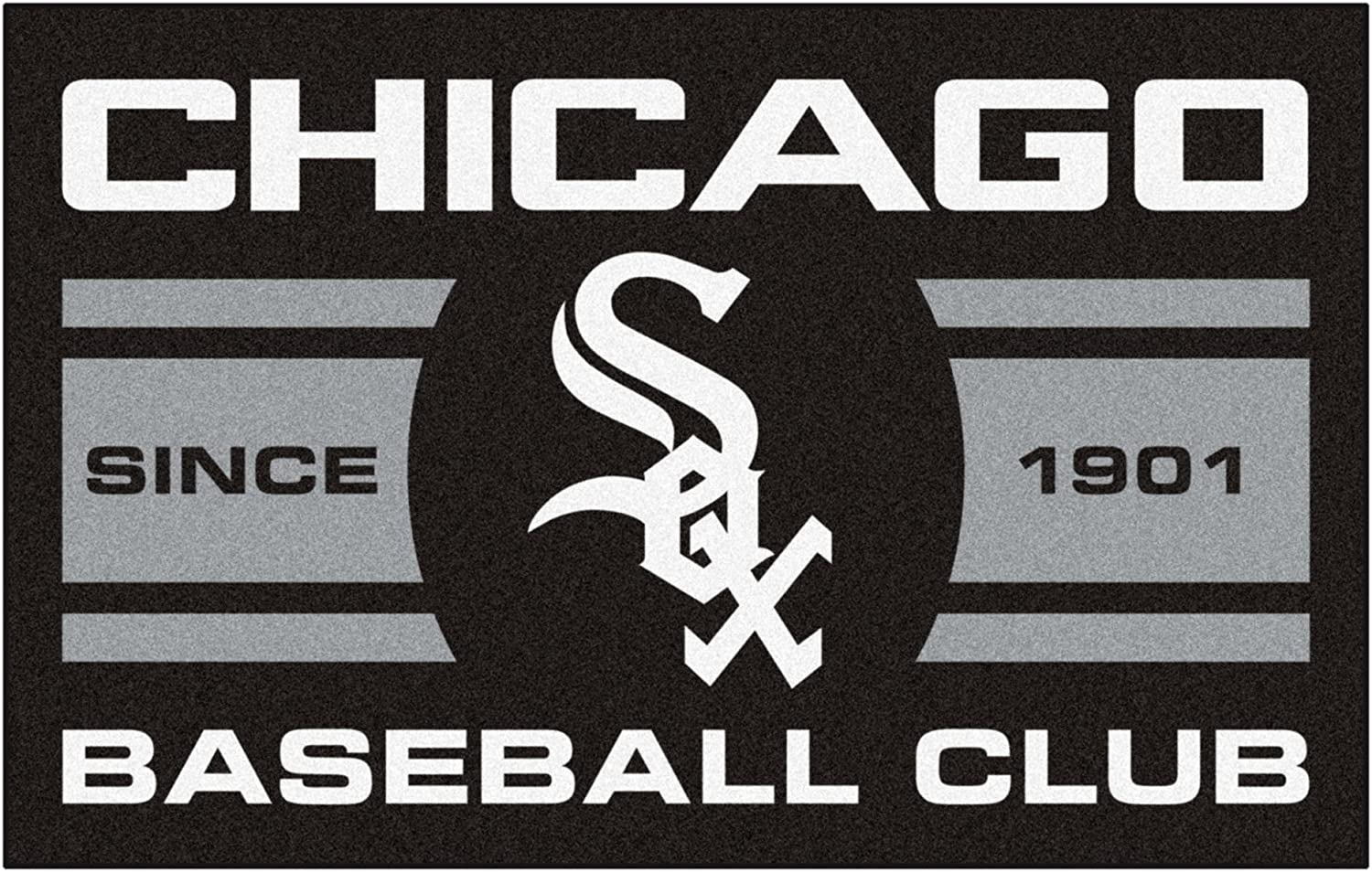 FANMATS 18464 Max 56% OFF Chicago White Sox Baseball Starter Max 71% OFF Rug Club