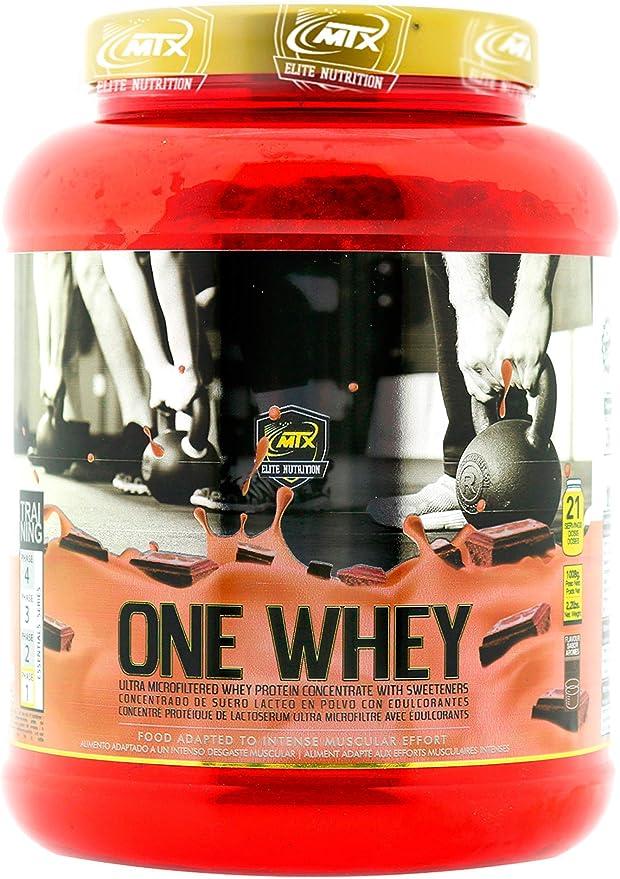 MTX nutrition OneWhey [998 Gr] 2,2 Lbs. BerryBlast Proteína PREMIUM (WPC) de suero ultrafiltradas ricas en microfracciones activas que apoyan el ...