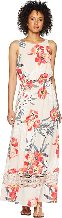 Adrianna Papell Tropical Breeze Maxi Dress