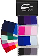 Supreme Swatch Book for Dark Brown, Black, Salt & Pepper and Silver Hair Color. Your Perfect Colors - For Men & Women - Look Younger + Thinner With Colors! By Jill Kirsh Color, Hollywood's Guru of Hue