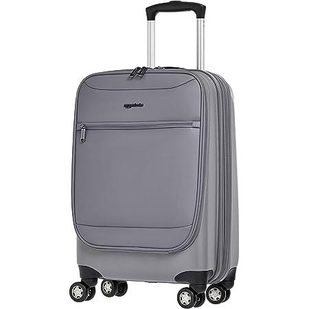 Amazon Basics - Maleta Ballard híbrida, con ruedas - 51 cm, Gris