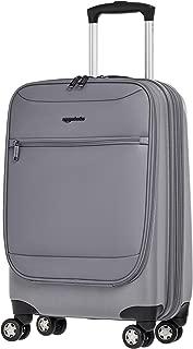AmazonBasics Hybrid Hard-Softside Expandable Spinner Suitcase, 20-Inch Carry-On