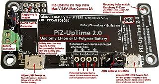 PiZ-UpTime 2.0 UPS for Raspberry Pi, Pi-Zero, SBC & IoT