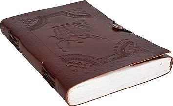 Gusti Cuero nature Libro de notas Formato B5 200 Páginas Diario de Viajes Cuaderno de Bocetos Libro de Recetas Colecciones Bloc de Notas P33b