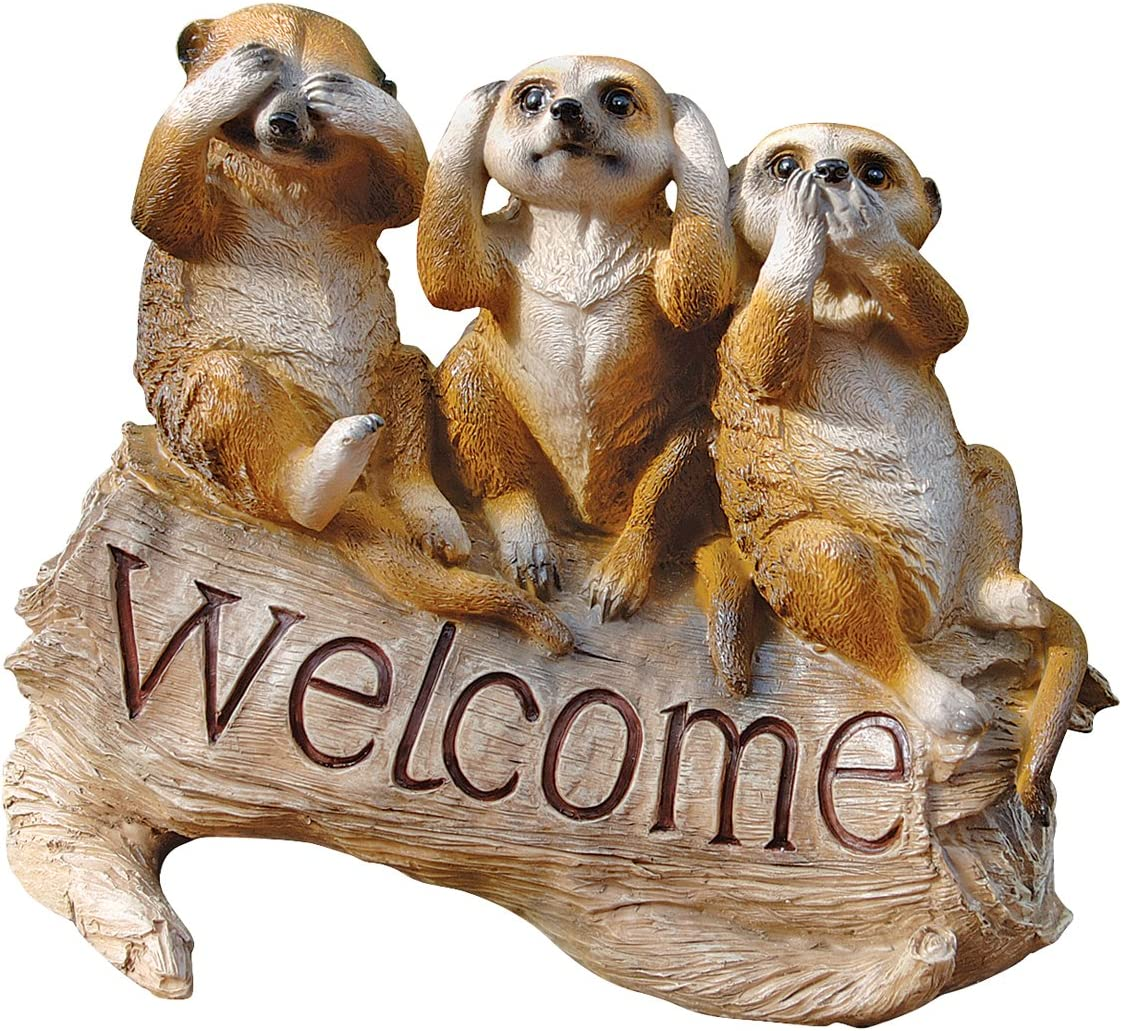 favorite Design Toscano The Meerkat Menagerie Super beauty product restock quality top! Welcome Statue
