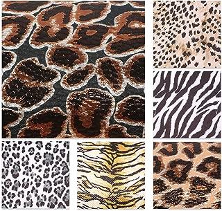 Best zebra leather fabric Reviews