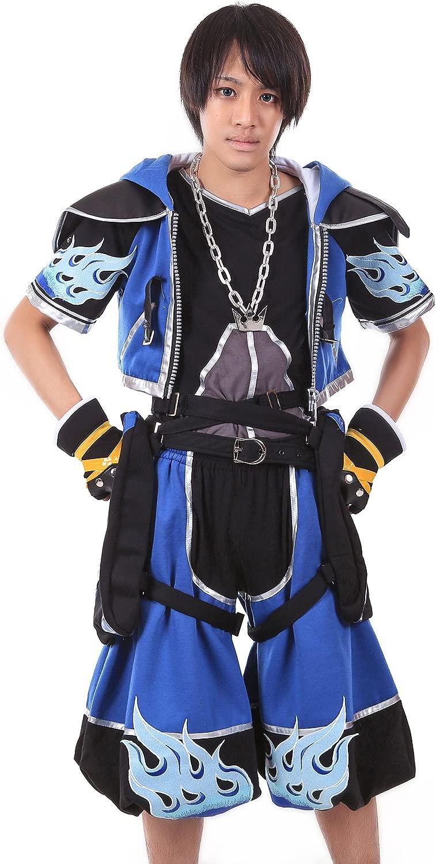 De-Cos Cosplay Costume Sora Outfit blu Coloree Set V2