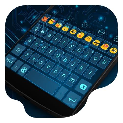 Circuit Trace -Kitty Emoji Keyboard